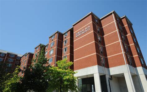 towson housing residence halls apartments towson university