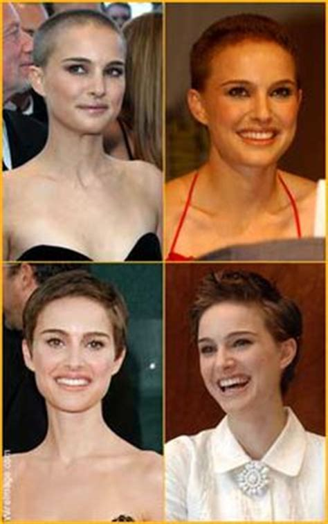 hair buzzed and growing out stages pics 1000 ideas about natalie portman bald on pinterest