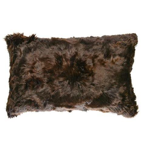Alpaca Fur Pillows by Roberta Brown Peruvian Alpaca Fur Pillow 12x20 Kathy