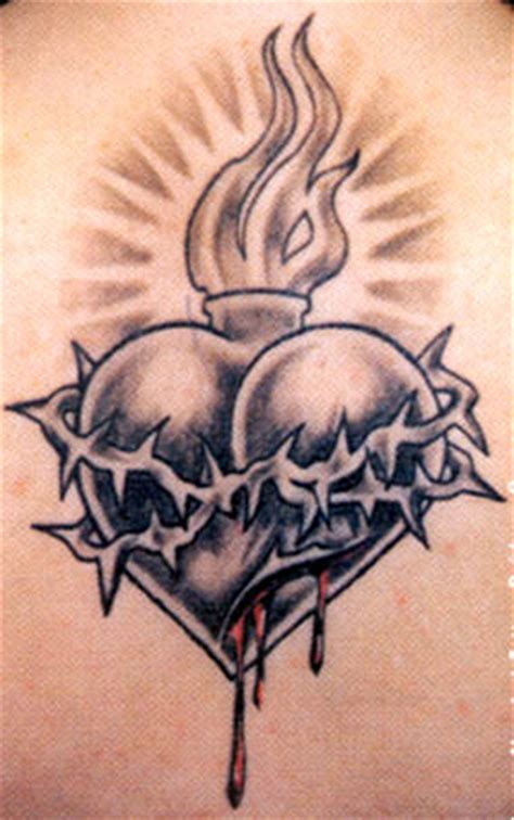 tattoo flash sacred heart of jesus tattoos