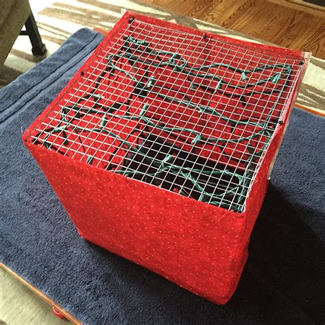 Chicken Wire Frame Lighted Gift Boxes Lighted Gift Boxes
