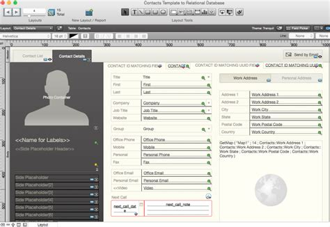 From Starter Solution To Relational Database The Scarpetta Group Inc Filemaker Pro Templates