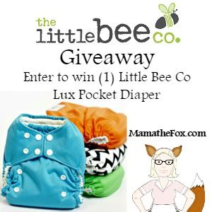 Free Cloth Diaper Giveaway - mamathefox little bee co cloth diaper giveaway mamathefox