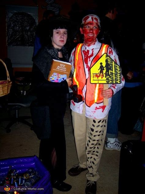 school crossing guard victim halloween costume idea