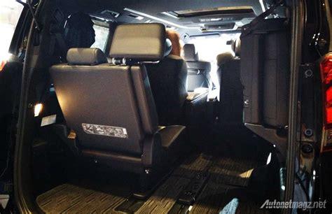 Kursi Alphard Impression Review Toyota Alphard Dan Vellfire 2015