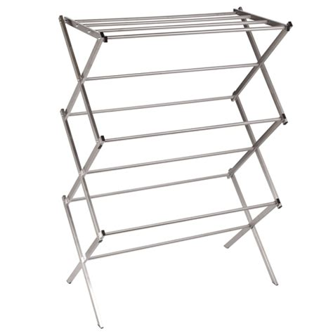 Cloth Drying Rack by Chrome Folding Clothes Drying Rack Clotheslines