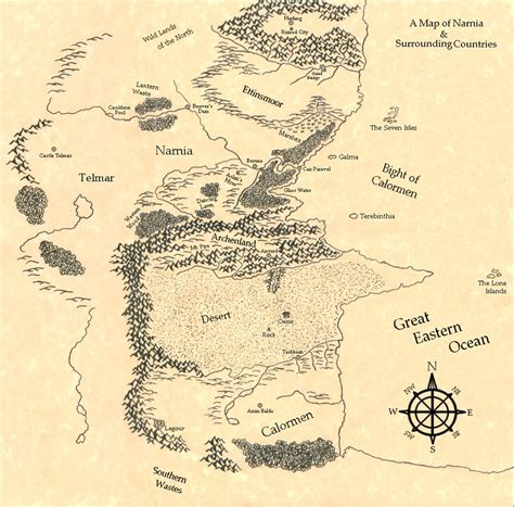 a map of the the searchers books map of narnia search c s lewis