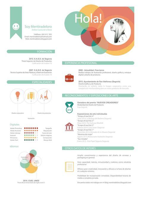 Plantillas Curriculum Vitae Creativo Para Rellenar las 25 mejores ideas sobre modelos de curriculums en