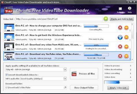 download youtube history chrispc free videotube downloader download youtube