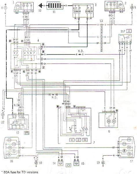 6 nissan y10 wiring diagram schema impianto