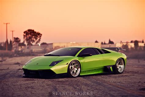 slammed lamborghini well planted roots the bagged lamborghini murcielago