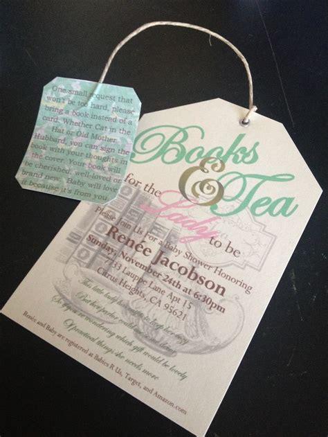 Tea Baby Shower Invitations by Baby Shower Tea Invitations Baby Bump