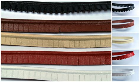 upholstery piping 1m cut edge faux leather piping insertion flanged