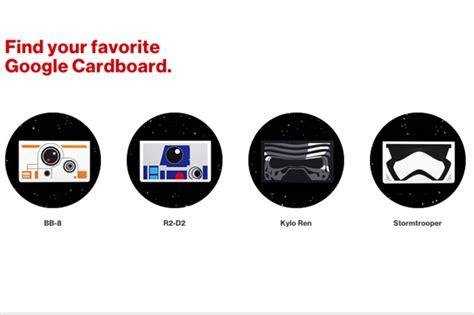 google images star verizon offering free star wars google cardboard headsets