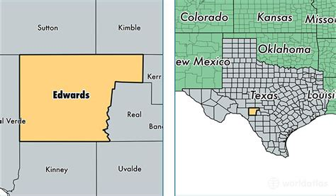 edwards county texas map edwards county texas map of edwards county tx where is edwards county