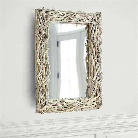 driftwood bathroom mirror b e interiors stick mirror