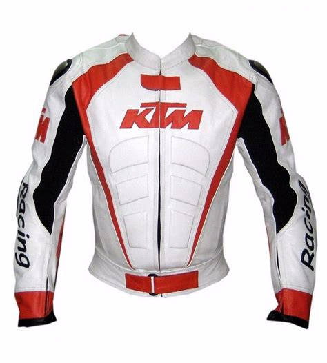 Premium Zipper Ktm Racing 2 racing motorcycle leather jacket safety pads for ktm alpinstar