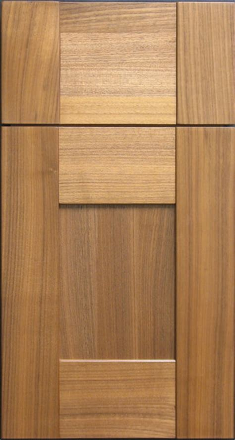 Walnut Cabinet Doors 1 4 Cut Black Walnut Custom Cabinet Door Contemporary Other Metro By Style Line Custom