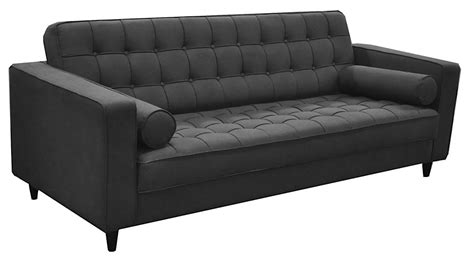 romano sofa romano sofa zuo romano velvet sleeper sofa in quilted plum