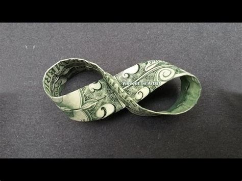Origami Dollar Sign - money origami infinity sign dollar bill