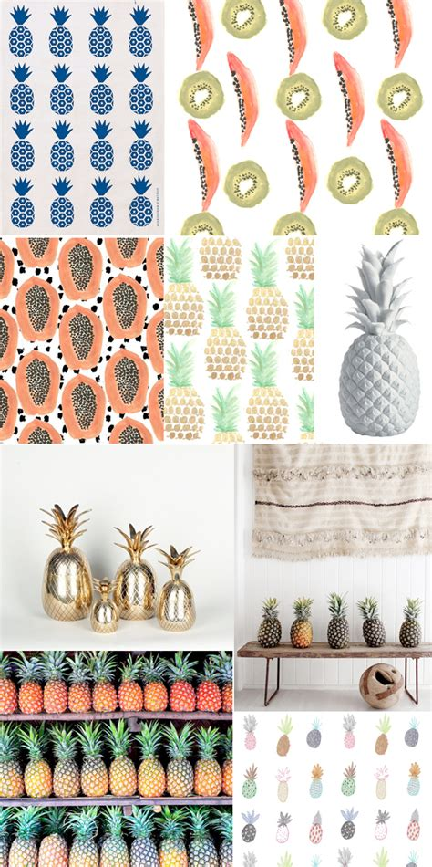 pineapple trend trend alert pineapples etc the jungalowthe jungalow