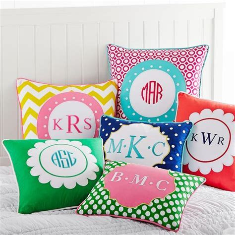 Monogram Pillows Pottery Barn by Monogram Pillow Cover Pbteen Nieces Nephew
