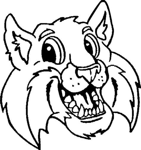 wildcat mascot clipart   clip art