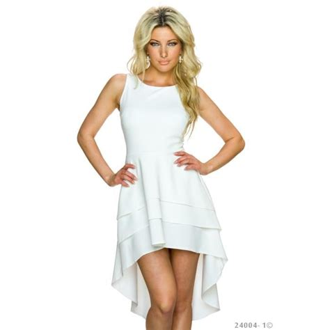 Robe Blanche Ceremonie Femme - robe blanche femme mi longue courte soir 233 e habill 233 e