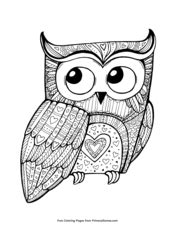 valentine owl coloring page valentine s day coloring pages printable coloring ebook