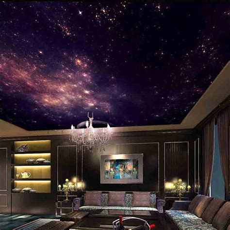 sky wallpaper for bedroom image gallery night sky ceiling painting