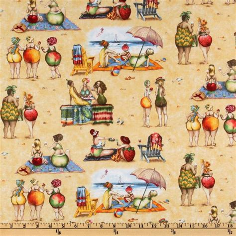 Tag Wholesale Home Decor fruit ladies beach sand discount designer fabric