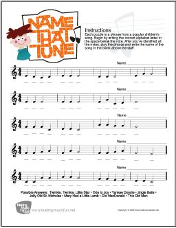 Note Identification Worksheet by Theory Worksheets And More Makingmusicfun Net