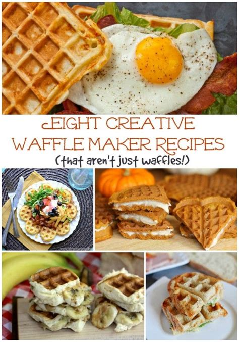 8 creative waffle maker recipes that aren t just waffles creative waffle iron and waffle day