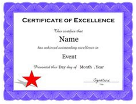 Free Certificate Of Excellence Template by Certificate Of Appreciation Template In Pdf And Doc Formats Free Downloads At Http