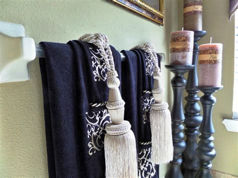 Bathroom Towel Decorating Ideas Attractive Bathroom Design Fabulous Kitchen Towel Holder Ideas At Decorating Home Design Ideas