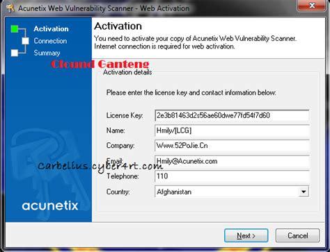 tutorial acunetix web vulnerability scanner acunetix web vulnerability scanner 8 0 2 full version