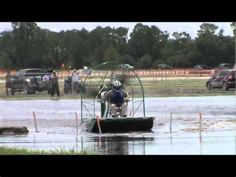 airboat vs car unlimited race car motor airboat final 1of 2 ground
