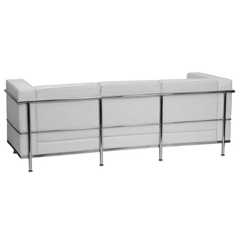 commercial sofa contemporary white leather commercial sofa with encasing