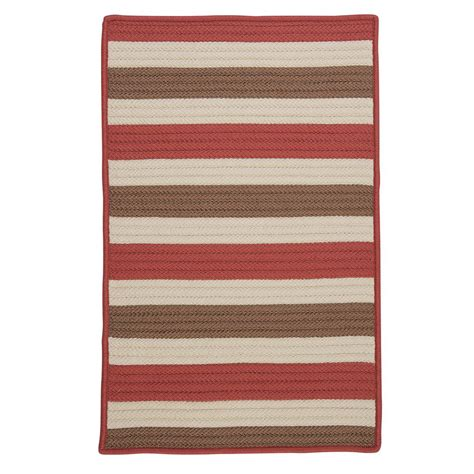 Home Decorators Outdoor Rugs Home Decorators Collection Baxter Terracotta 2 Ft X 3 Ft Indoor Outdoor Braided Area Rug