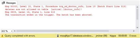 audit table design patterns audit and prevent sql server table changes