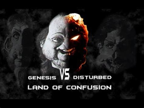 disturbed land of confusion genesis disturbed land of confusion fused together