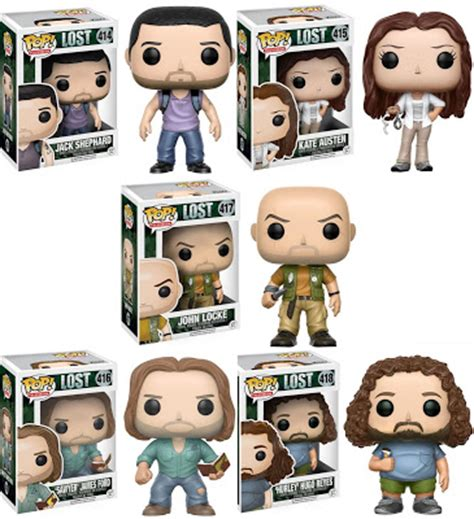 Funko Pop Promotion Set Lost the blot says lost pop vinyl figures by funko