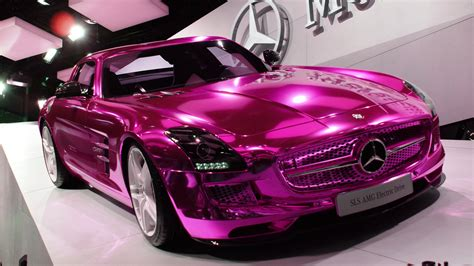 The Barbie Doll Drives A Pink Mercedes Mercedesblog