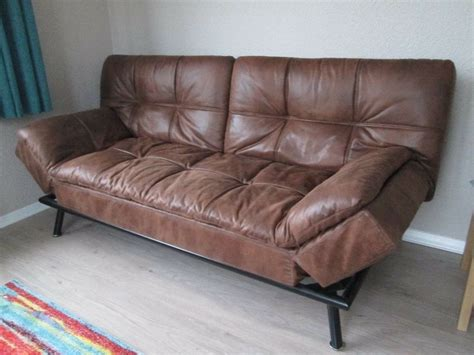 texas faux leather sofa bed  lancaster lancashire gumtree
