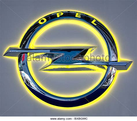 Opel Car Logo by Opel Emblem Stock Photos Opel Emblem Stock Images Alamy