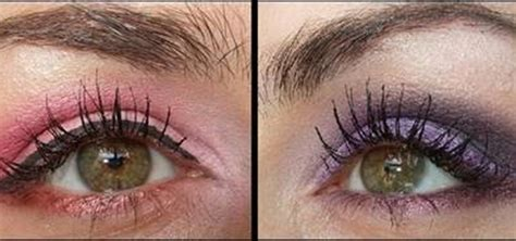 how to create a pink and purple smokey eye for prom