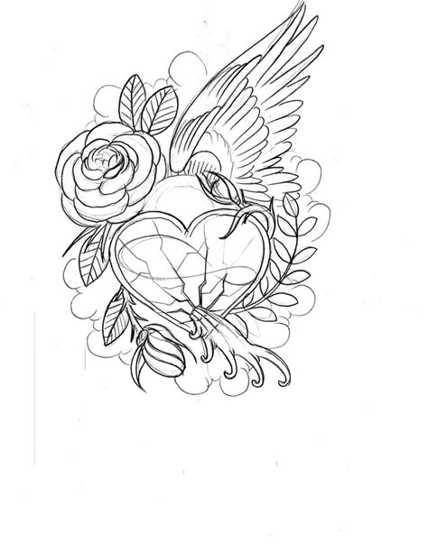 printable rose coloring pages for adults hearts and roses coloring pages hearts and roses