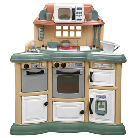 Play Kitchen by Homestyle Play Kitchen Gives Real Cooking Experience To