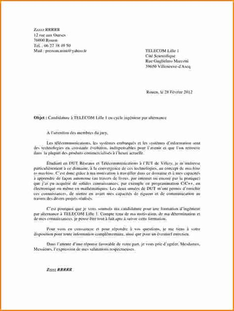 Ecole D Archi Lettre De Motivation 5 Lettre De Motivation 233 Cole De Communication Exemple
