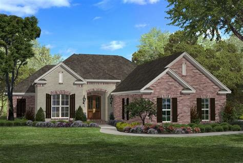 French Country Plan 1 800 Square Feet 3 Bedrooms 2 5 Country House Plans 1800 Sq Ft